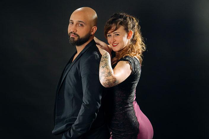 Adam Sahraoui e Claudia Cavagnini